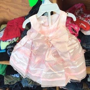Pink dress for children